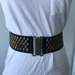 BCBGMaxaria Stud Belt Size S